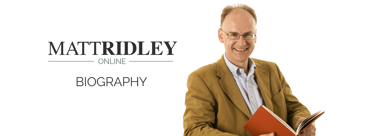 Matt Ridley - Biography